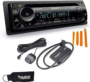 Sony MEX-N5300BT Bluetooth CD Receiver & SiriusXM SXV300V1 Satellite Radio Tuner