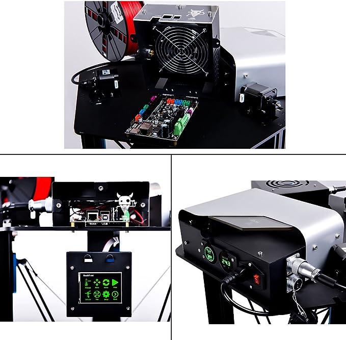 tevo pequeño Monster kossel Delta Impresora 3d DIY Kit, impresión ...