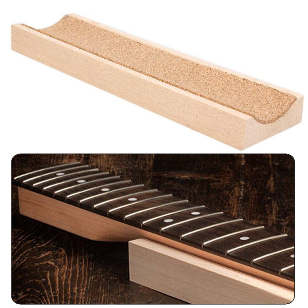 Luvay Guitar Neck Stand for Bass, Ukulele, Violin etc. - Support Caul, Luthier Setup Maintenance Station Tool for String Instrument