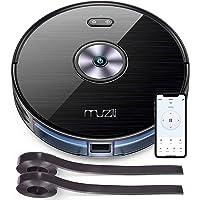 Muzili Robot Aspirador,WLAN Robot Aspirador y Fregasuelos con Depósito de Agua,Control de App,Compatible con Alexa y…