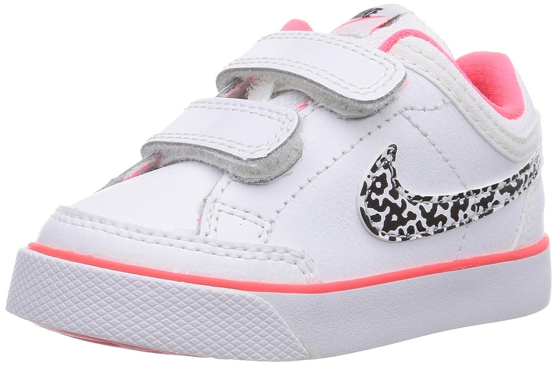 Nike Capri 3 Leather, Baby-Girls First Walking Shoes, White  (White/White/Black/Hyper Punch 103), 1.5 UK: Amazon.co.uk: Shoes & Bags