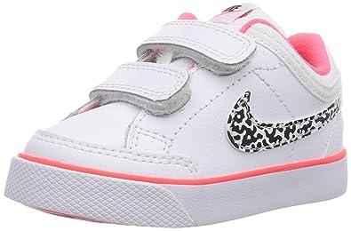 Nike Capri 3 Leather, Baby-Girls First Walking Shoes, White (White/