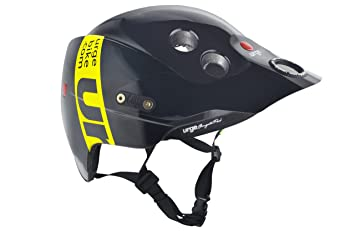 Urge Endur-O-Matic Band - Casco de motocross negro negro/amarillo Talla