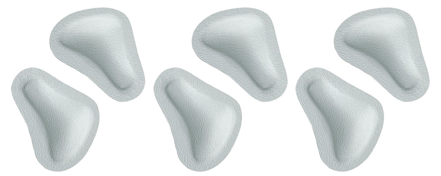 Pedag T-form Anatomically Correct Metatarsal Arch Pads to Lift and Shape, Leather, Medium (EU 38-40/ US W8-10/7M), 3 Count by pedag