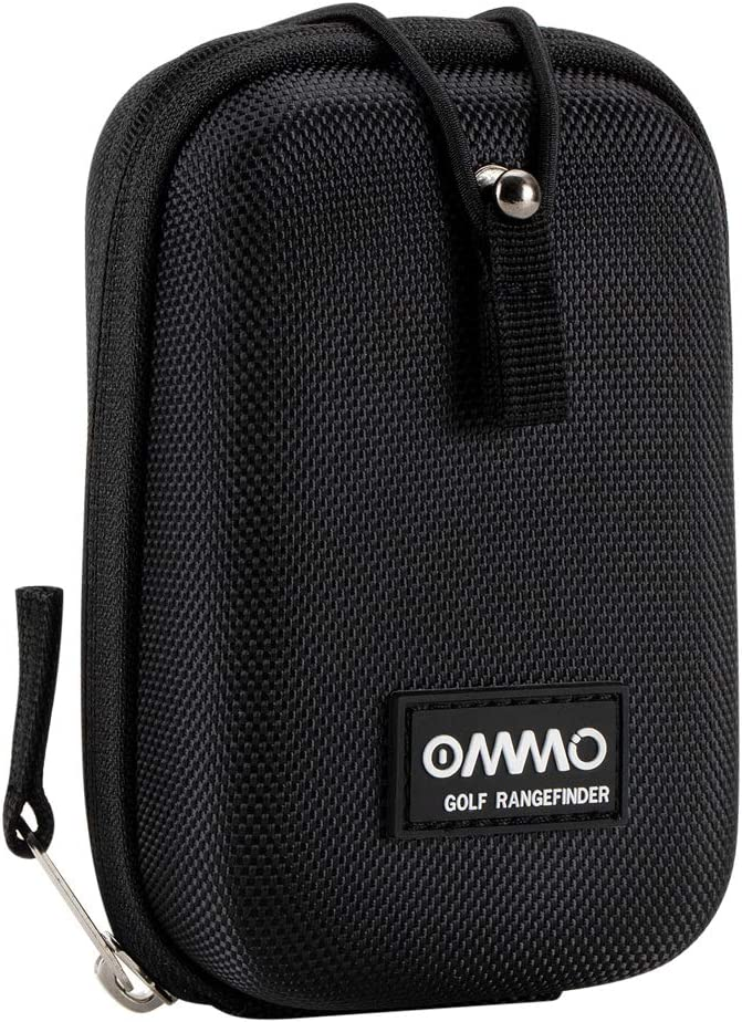 OMMO Golf Rangefinder, 6X Laser Range Finder Flag-Lock with Pulse Vibration, Slope Pin Seeker Scanning Model for Golf Training White Rangfinder
