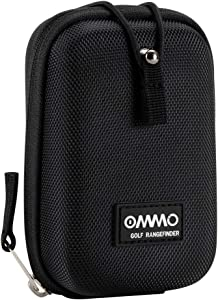 OMMO Golf Rangefinder, 6X Laser Range Finder Flag-Lock with Pulse Vibration, Slope/Pin Seeker/Scanning Model for Golf Training (White Rangfinder)