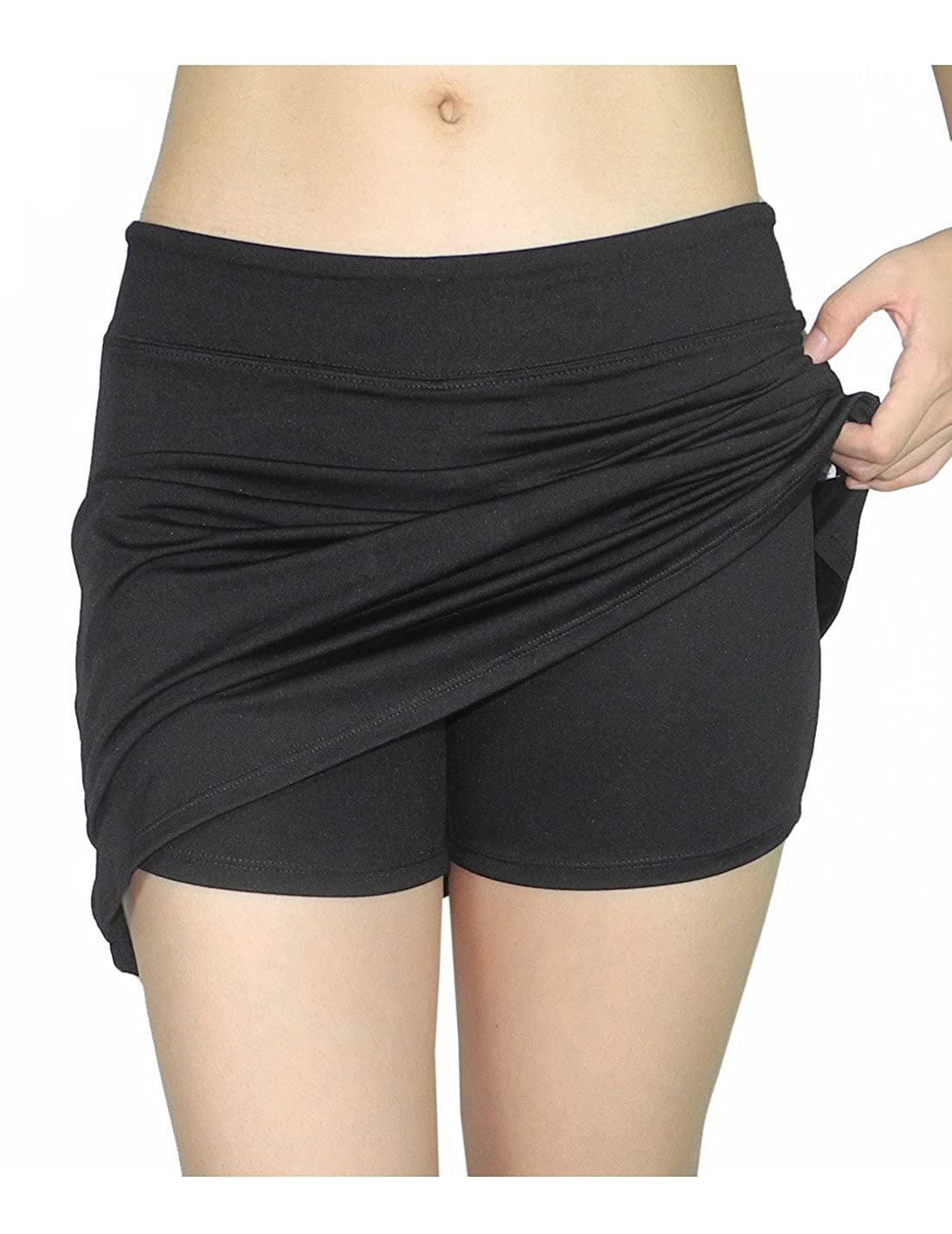 7f146ee924267 Tranquility by Colorado Clothing Womens Fitness Training   Yoga Skort at  Amazon Women s Clothing store
