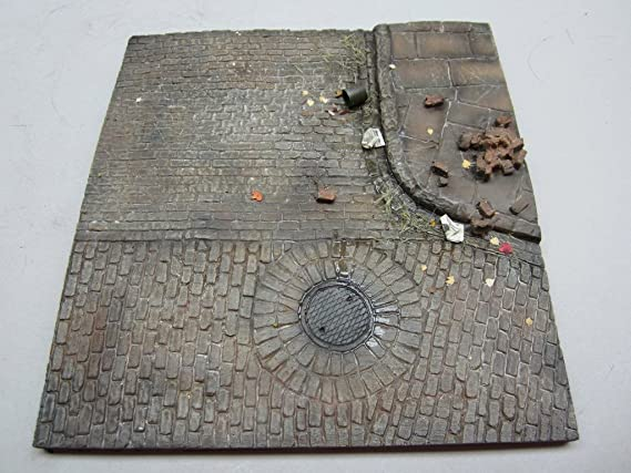 Amazon.com: Base de diorama de escala 1/35, n.º 4, 6.496 in ...