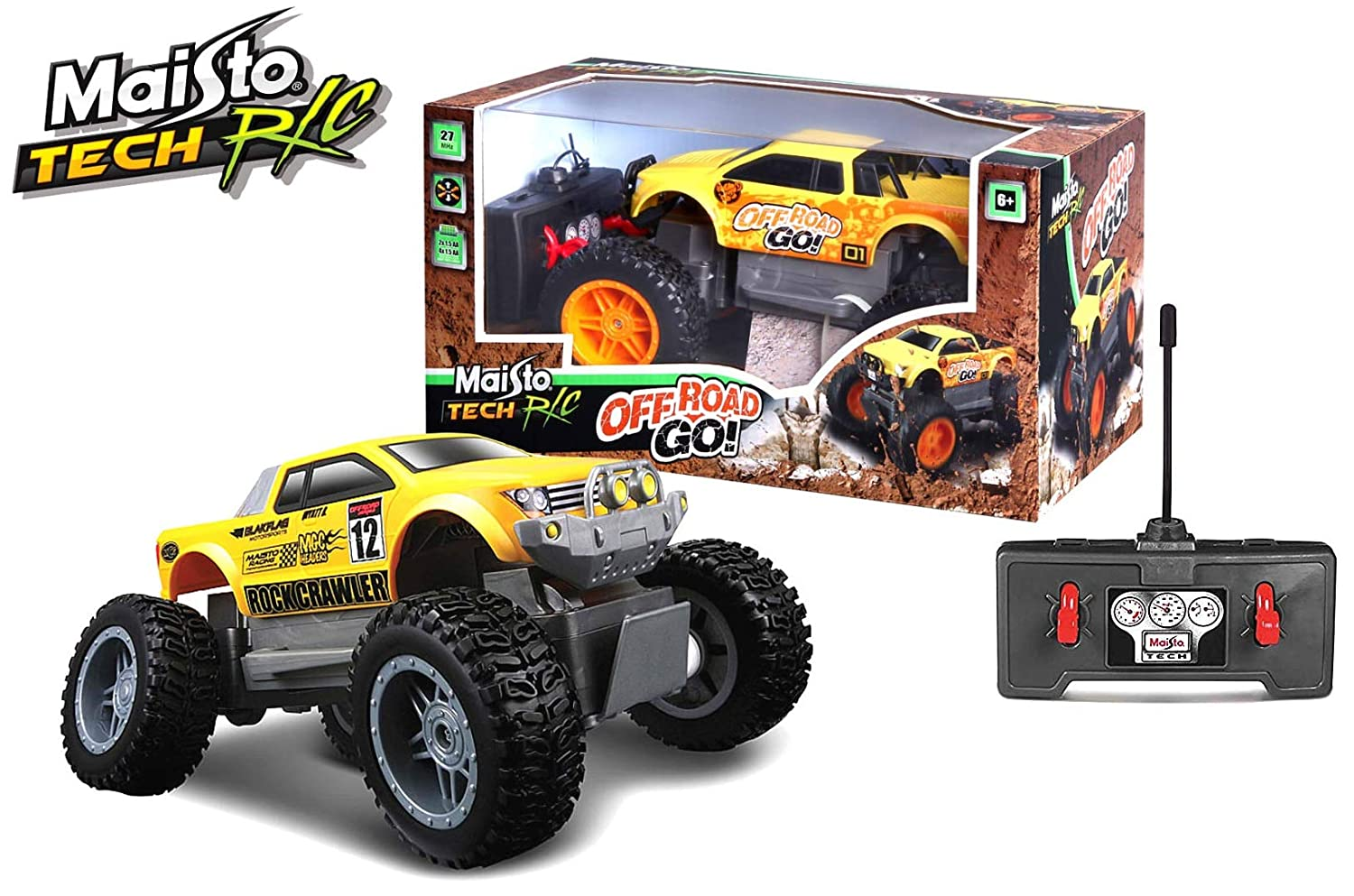 THE MAISTO ROCK CRAWLER JR (Color may vary) M81162