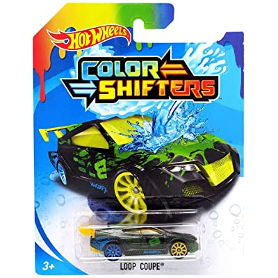 2020 Hot Wheels Color Shifters Loop Coupe: Toys & Games