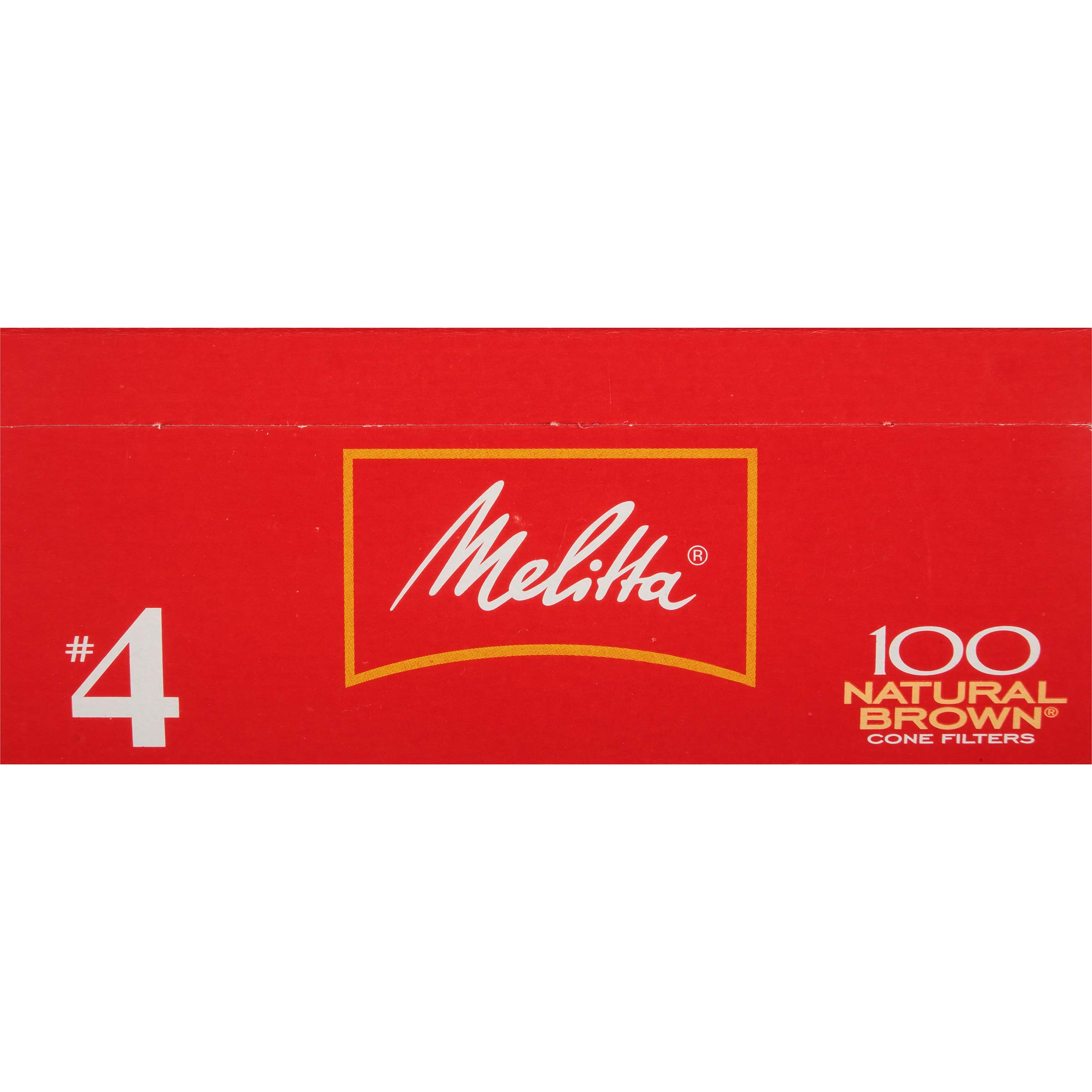 Melitta (62445C) Super Premium No. 4 Cone Coffee Filters, Natural Brown, 100 Count (Pack of 6) by Melitta (Image #3)