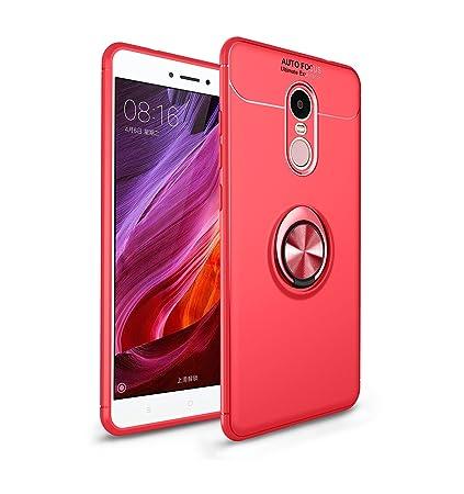 Anfire Funda Xiaomi Redmi Note 4, Carcasa Suave Anillo de ...