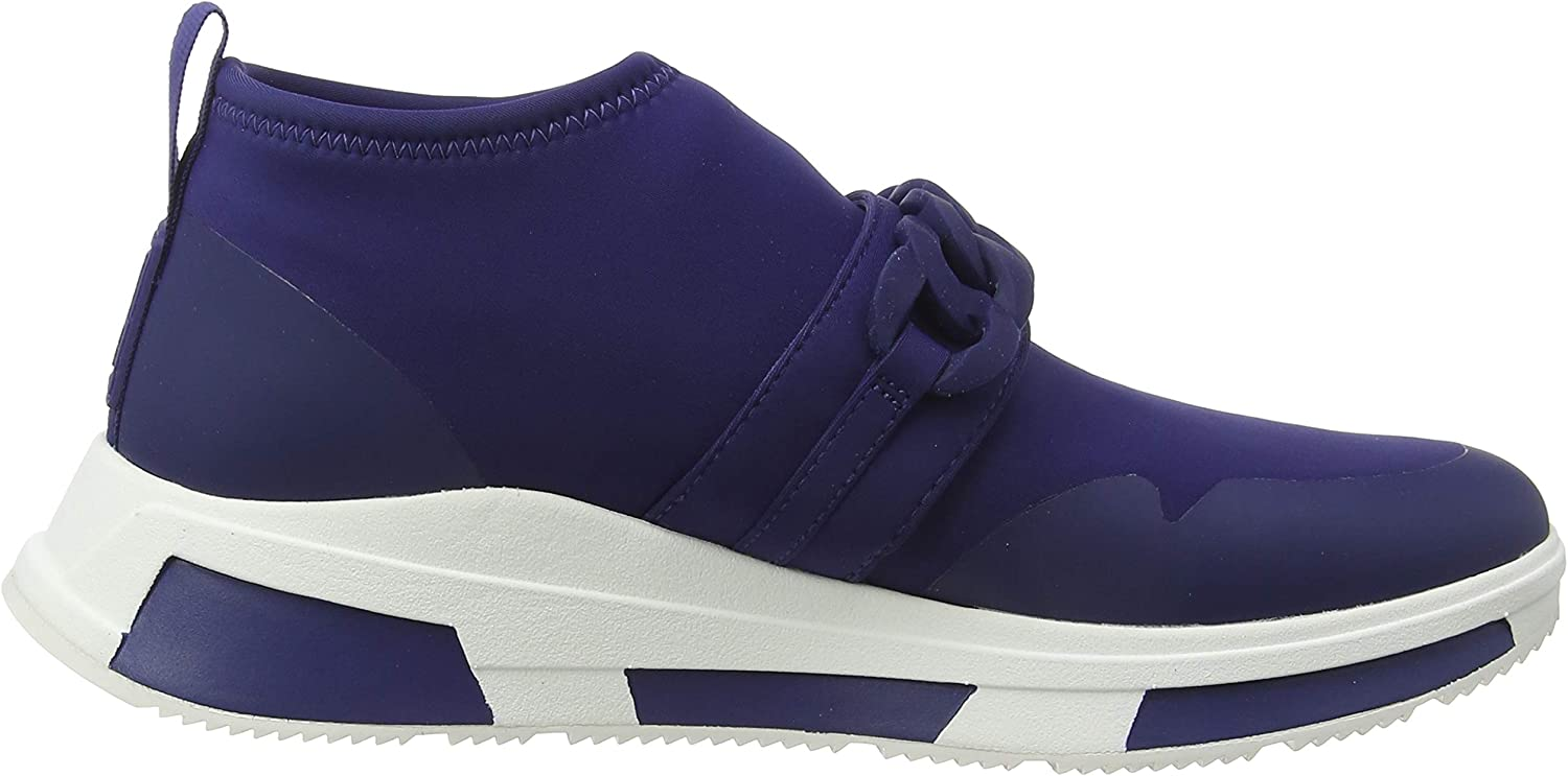 Fitflop Heda Chain Slip-on Sneakers, Sneaker Donna Blu Midnight Navy 399