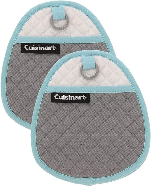 2pcs Bleu Outils de Cuisson Pot Couvercle Insert Lifters Cuisine Gadgets Accessoires Prevent Soup De D/ébordement