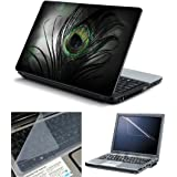 RANZ 3 IN 1 Laptop Protection 15.6 INCH (Screen Protector + Back Protector + KeyPad Guard)