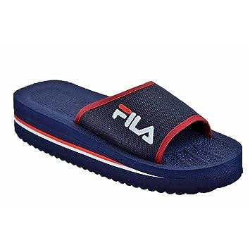 Sandale Fila Tomaia Slipper 41 Bleu F4L1ArQ