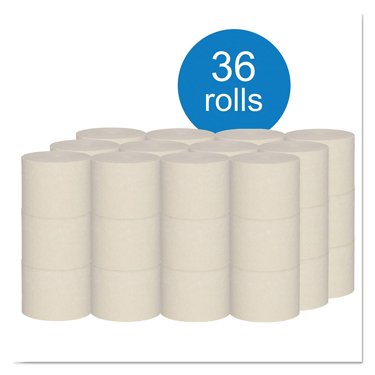 Amazon.com: Scott 43851 Coreless Standard Roll Bath Tissue w/Plant Fiber, 2-Ply, 1000 per Roll (Case of 36 Rolls): Industrial & Scientific