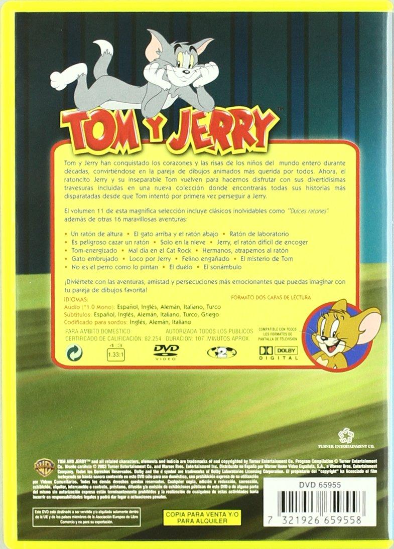 Amazon.com: Coleccion Tom Y Jerry Vol. 11 (Import Movie) (European Format - Zone 2) (2004) Varios: Movies & TV
