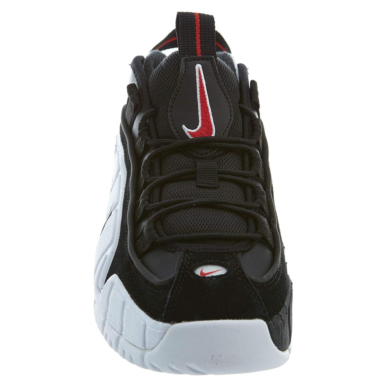 Nike Air Max Penny Le Big Kids Style 315519-007 Size 6 Black//Black-White