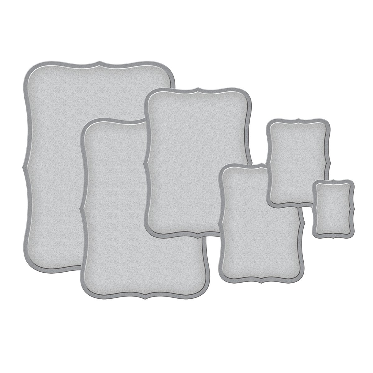 Spellbinders S5-019 Nestabilities Labels Eight Etched/Wafer Thin Dies