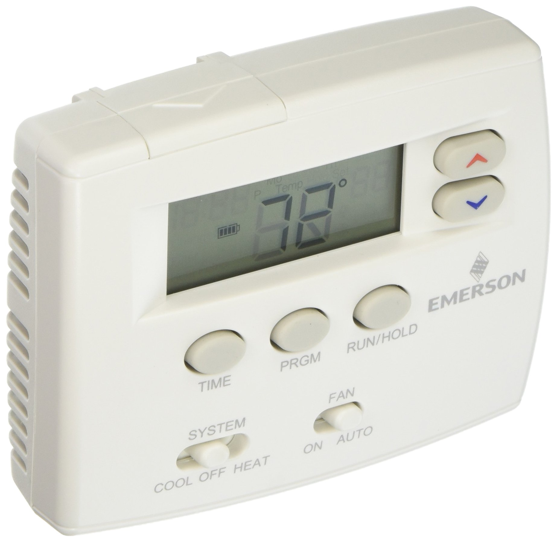 Emerson 1F80-0224 Single Stage 24 Hour Programmable Thermostat
