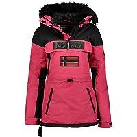 Geographical Norway Bruna Lady – Parka cálida para mujer – Abrigo grueso con capucha para exterior – Chaqueta cálida…