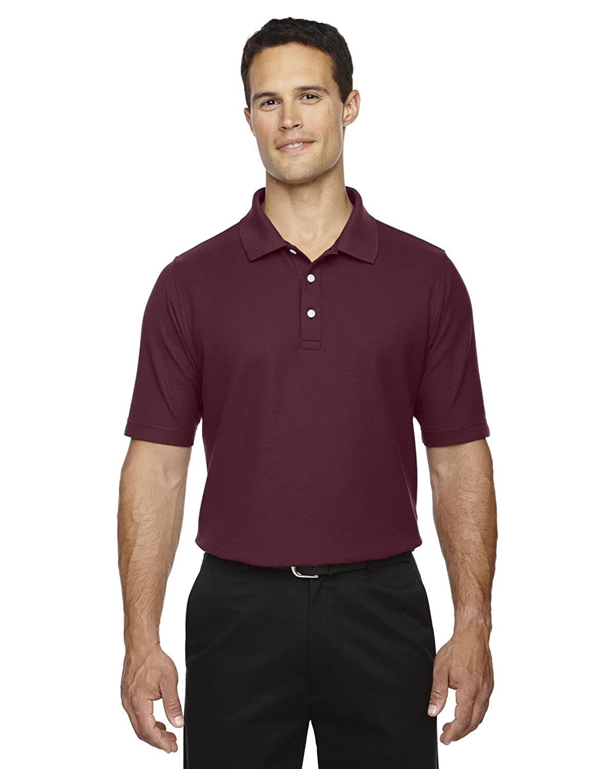 Averills Sharper Uniforms Mens Moisture Wicking Cotton Waitstaff Polo Shirt