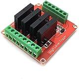 AptoFun 4 Channel Solid State Relay Module for Arduino UNO MEGA 2560 R3 AVR Raspberry PI