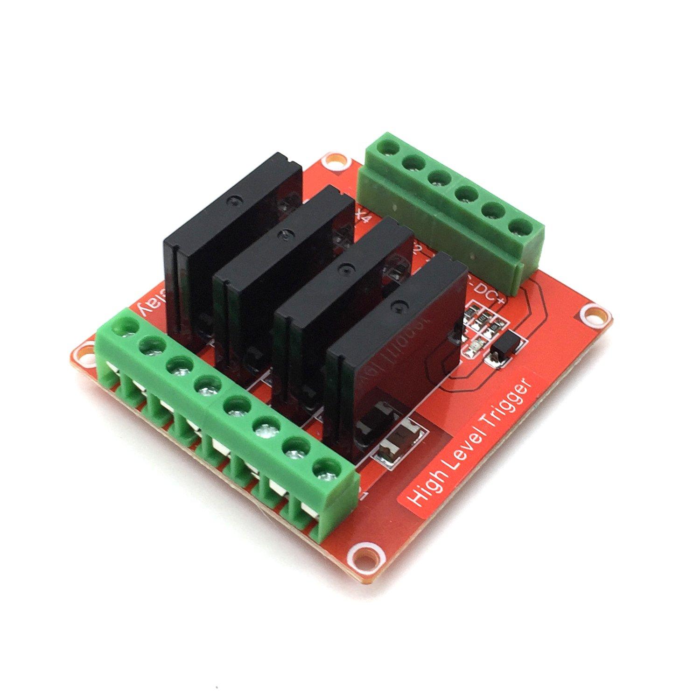 AptoFun Módulo de relé de 2 canales con DC 5V para Arduino UNO R3 Raspberry Pi ARM AVR DSP PIC (2 channels) Aptotec