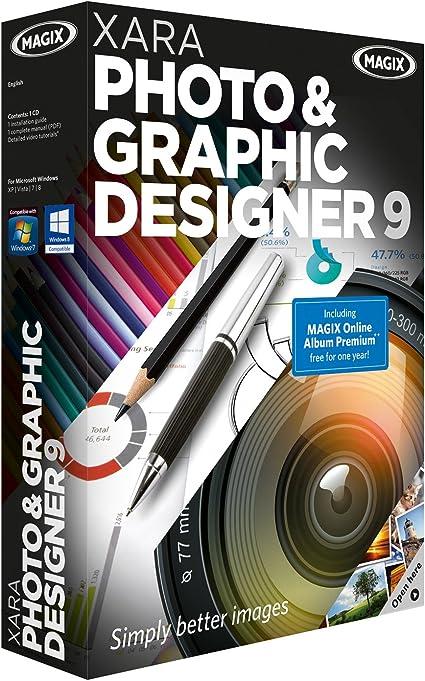 Amazon Com Xara Photo And Graphic Designer 9 Software