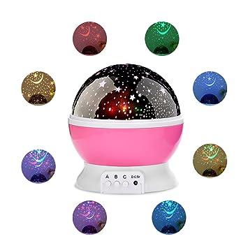 Amazon.com: Constelación Proyector para niños bebés – el ...
