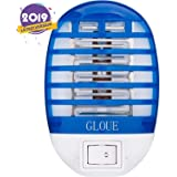 GLOUE Bug Zapper Electronic Mosquito Zapper Electronic Insect Killer Eliminates Most Flying Pests-Latest Type in 2019