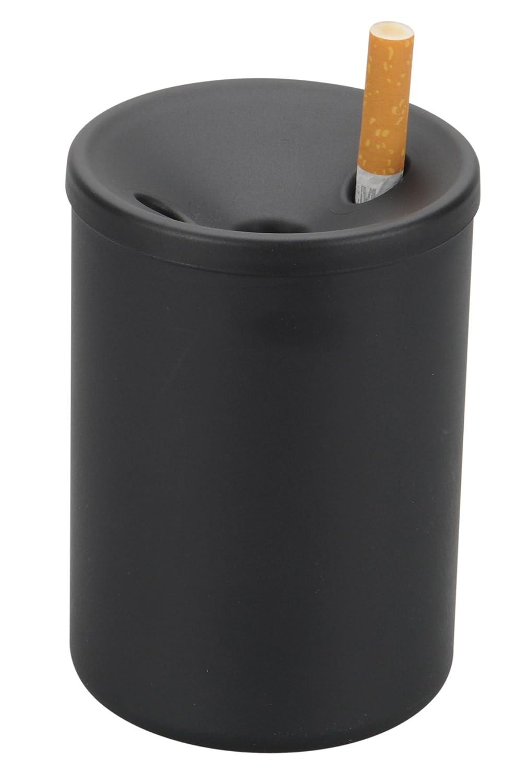 HR 10512101 Aschenbecher mit Trichterdeckel aus nicht brennbarem Kunststoff fü r ist geeignet fü r Auto (passt in den Geträ nkehalter), Balkon, Boot oder Biergarten. MADE in GERMANY HR Herbert Richter