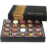 Hazel & Creme Chocolate Gift Boxes - 20 Cookies - Gourmet Cookies - Food Gift In Elegant Box
