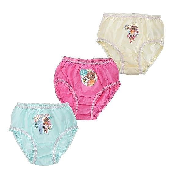 Calzoncillos de ropa interior para personajes de niñas y niños de entre 18 meses y 8