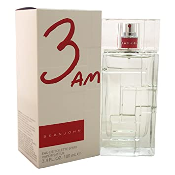 Amazoncom Sean John 3 Am Eau De Toilette Spray For Men 34 Ounce