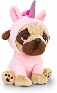 Keel Toys Pugsley 20cm Unicorn Pug Dog  sc 1 st  Amazon UK & Keel Toys Large Pugsley 20cm Pug Dog in Unicorn Costume Cuddly Soft ...