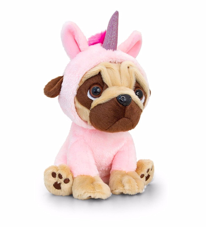 dad1e9f1809 Keel Toys Pugsley 20cm Unicorn Pug Dog