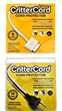 CritterCord citrus cord starter twin pack cable protector for rabbits cats dogs pets