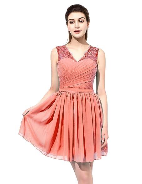 Sarahbridal Short Homecoming Dress Formal Prom Bridesmaid Lace And