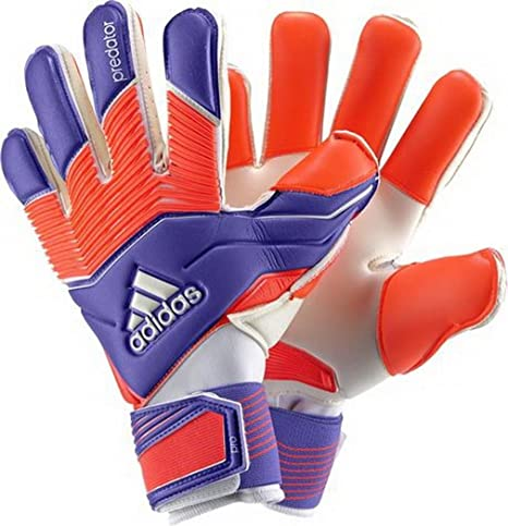 super popular 07a37 7a809 adidas Adult Predator Zones Pro Goalkeeper Gloves, Unisex, M38737, Night  Flash S15