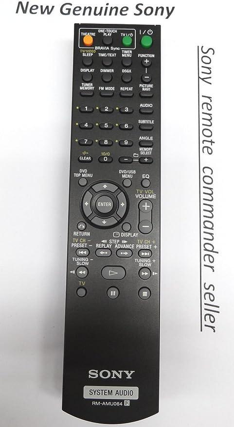 ORIGINAL Remote RM-AMU064 For Sony CMT-DH50R CMT-DH70SWR HCD-DH50R HCD-DH70SWR