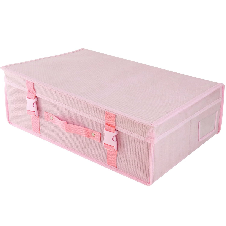 HANGERWORLD Single Medium Pink Wedding Dress Bridal Gown Storage ...