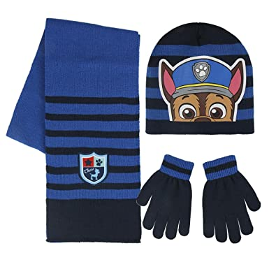 Cerdá 2200002447, Ensemble Bonnet, écharpe et Gant Garçon, Bleu (Azul 001) 18d772561db