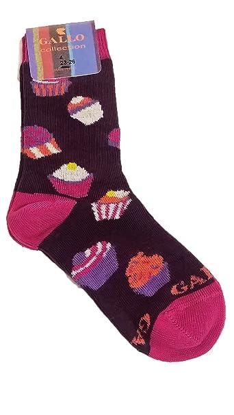 Calcetines Socks corta algodón niño/a Gallo l0975 C Cupcake: Amazon.es: Ropa y accesorios