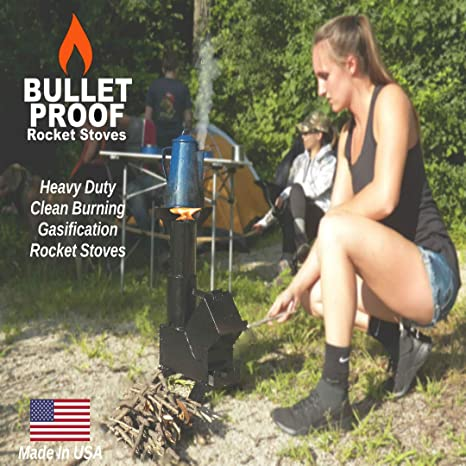 Amazon.com: Bullet Proof 50bmg Rocket Estufa Calentador de ...