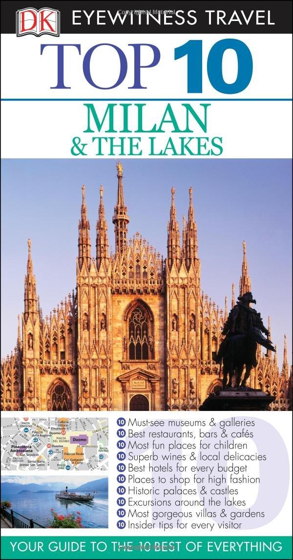Milan Lakes Eyewitness Travel Guide product image