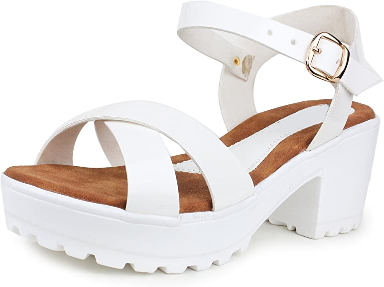 Do Bhai Sandal-Gungun Heels for Women Women's Fashion Sandals at amazon