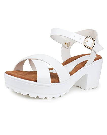 b616a626d96 Do Bhai Sandal-Gungun Heels for Women  Buy Online at Low Prices in India -  Amazon.in