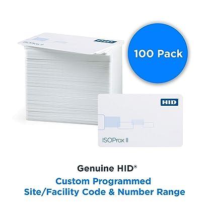 HID 1386LGGMN ISOProx II tarjeta de proximidad de PVC ...